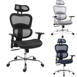 Office Chair Mesh Ergonomic Computer Chair 3d Armrests Technical Task Chair