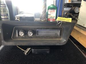 1971 Oldsmobile Tornado Factory 8 Track Tape Player Including Factory Surround