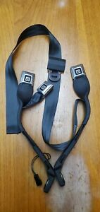1987 Chevy Gmc Truck Nos Seat Belts Charcoal Black Genuine Nos Gm 1981 1987