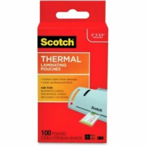 3m Scotch Thermal Laminating Pouches Tp5851100