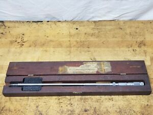 Lufkin No 683 Multi mike Groove Micrometer With Case