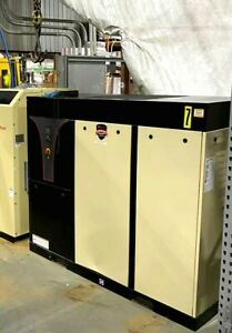 Excellent Condition Ingersoll Rand 30hp Vsd Irn30h cc Rotary Screw Compressor