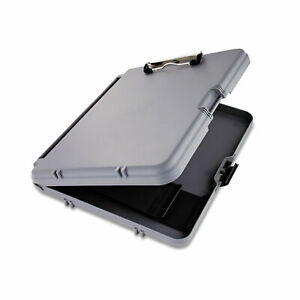 Saunders Workmate Storage Clipboard 1 2 Capacity Holds 8 1 2w X 12h Charcoal