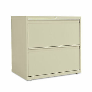 Alera Two drawer Lateral File Cabinet 30w X 19 1 4d X 28 3 8h Putty Lf3029py
