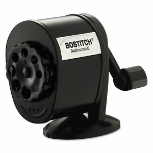 Bostitch Counter mount wall mount Antimicrobial Manual Pencil Sharpener Black