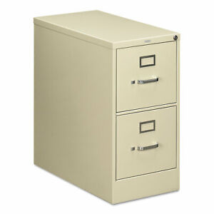 Hon 210 Series Two drawer Full suspension File Letter 28 1 2d Putty 212pl