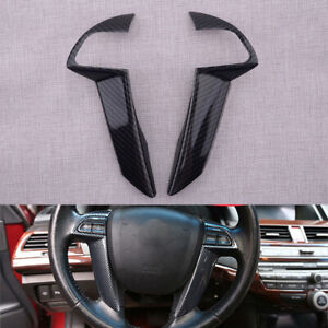 Kit Steering Wheel Button Cover Trim Fit For Honda Accord Crosstour Gl 2008 2013