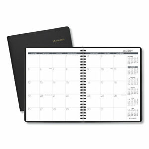 At a glance Monthly Planner 8 3 4 X 6 7 8 Black 2020 7012005