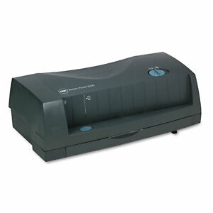 Gbc 24 sheet 3230 Electric Two to three hole Adjustable Punch 9 32 Holes Gray
