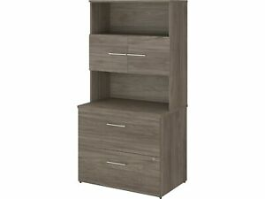 Bush Business Furniture 2 drawer Lateral File Cabinet Locking Letter legal