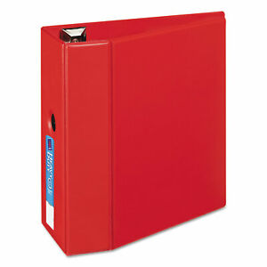 Avery Heavy duty Binder With One Touch Ezd Rings 11 X 8 1 2 5 Capacity Red