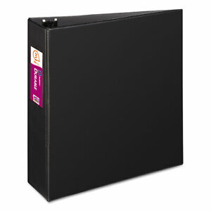 Avery Durable Binder With Slant Rings 11 X 8 1 2 3 Black 27654