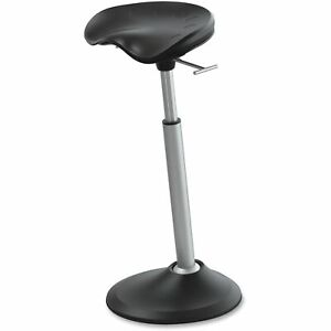 Safco Mobis Ii Seat By Focal Upright Black With Black Base Ffs2000bk