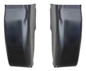 Outer Cab Corner Fits 99 16 Ford Super Duty Pickup Truck Regular Crew Cab Pair