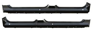 Extended Rocker Panel For 07 13 Chevy Silverado Gmc Sierra Crew Cab Pickup Pair