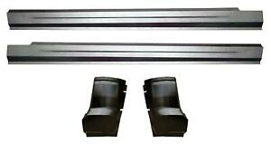Slip On Rocker Panel Cab Corner Kit For 09 18 Dodge Ram Pickup Truck Quad Cab
