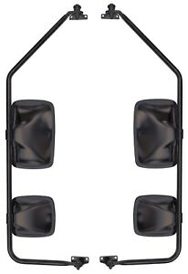 Dual Heat Mirror Assembly With Preset For Stepvan P30 Truck Pair Velvac 714961
