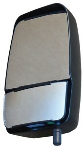 Deluxe Black 2020 Lh Mirror Head Ford Chevy Cutaway Cab Chassis Velvac 714579