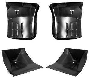 Front Cab Mount Floor Pan Kit Fits 67 79 Ford Pickup F100 F150 Weld On Style