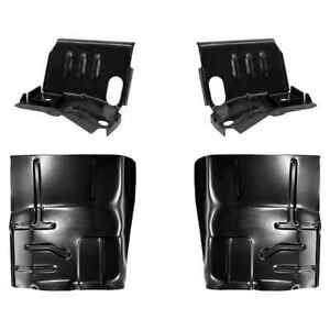 Cab Mount Floor Support Floor Pan Kit For 80 98 Ford F series Pickup Bronco