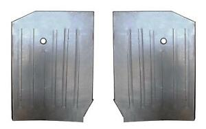 Floor Pans Under Front Seat For 89 98 Suzuki Sidekick Chevy Geo Tracker Pair