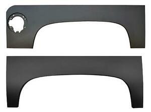 Upper Wheel Arch For 5 5 Bed With Gas Hole For 07 13 Chevy Pickup Silverado Pair