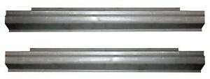 Slip On Rocker Panel Fits 89 97 Suzuki Sidekick Chevy Geo Metro 2 Door Pair
