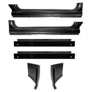 Oe Style Rocker Panel Cab Corner Backing Plate Kit For 60 66 Chevy Gmc Pickup