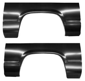 Rear Wheel Arch Quarter Bed Panel For 88 98 Chevy Gmc Pickup Truck Pair