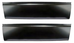 Lower Door Skin 02 08 Dodge Ram 1500 03 09 2500 3500 2 Door pair