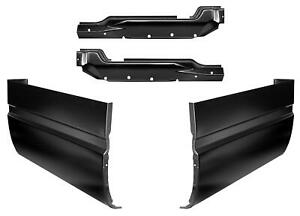 Inner And Outer Extended Cab Corner Kit For 88 99 Chevy Gmc Ck Pickup Truck
