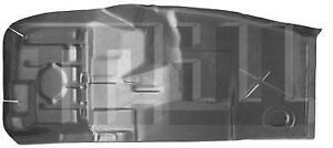 Floor Pan Half Without Center Hump For 75 81 Chevy Camaro Pontiac Firebird Right