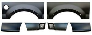 Wheel Arch Front Rear Lower Bed Kit 6 5 Bed For 04 08 F150 Pickup Truck