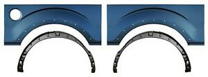 Wheel Arch Outer Bed Wheelhouse Kit W Holes For 09 14 Ford F150 Pickup Truck