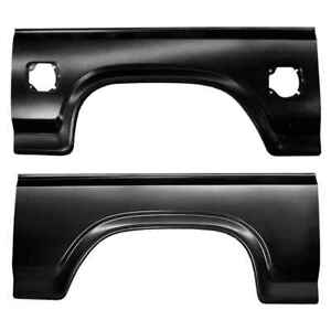 Rear Wheel Arch Kit For 80 86 Ford F150 F250 F350 Super Duty Pickup Truck