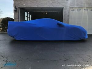 Coverking Satin Stretch Tailored Car Cover For Chevy Corvette C8 Made To Order
