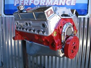 Chevy 383 425 Hp 4 Bolt Aluminum Heads Hi perf Balanced Crate Engine Chevrolet