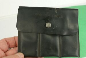 Vintage Snap On Tool Plastic Pouch
