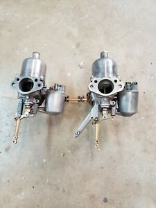 0triumph Tr3 Tr4 H6 Su Carburetor Set