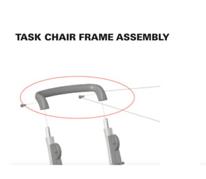 Humanscale Freedom Office Chair Handle Brace