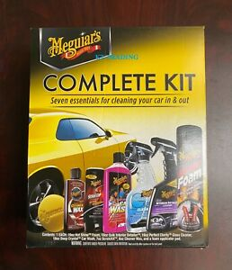 Meguiar S Complete Care Kit 7 Essentials For Cleaning Wax Detailing Car Truck