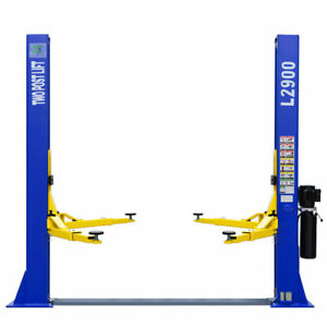 A L2900 Two Post Lift 9 000 Lb Capacity Car Auto Truck Hoist 220v Inq Shipping