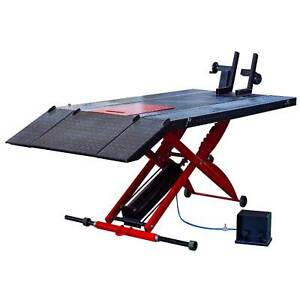 Mj200 Air Operate Motorcycle Lift Table 1 500 Lb