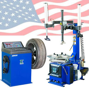 New 988 Tire Wheel Changer Machine Combo 680 Balancer Rim Clamp Inquire Shipping