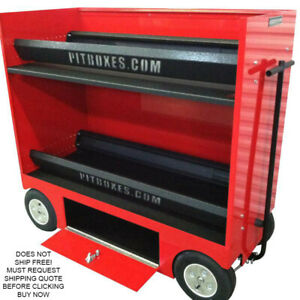 Rsr 26 Double Tire Rack Rolling Pit Box Wagon Cart