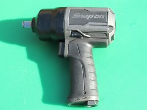 Snap On Pt850gm Gun Metal Gray 1 2 Drive Impact Air Wrench Gun Pt850 Pt 850