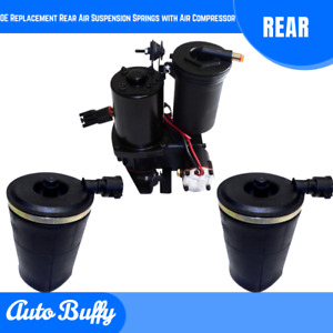 Oe Replacement Rear Air Suspension Springs Air Compressor For Crown Victoria