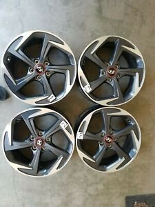 2019 2020 Hyundai Veloster 18 Wheels Rims Factory Oem Set Of4 Free Shipping