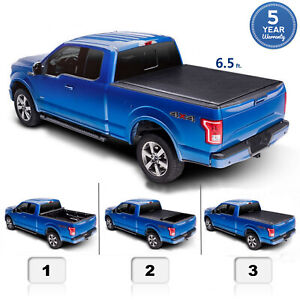 6 5 Ft Roll Up Cover For 04 14 F150 06 08 Mark Lt Truck Bed Tonneau Cover