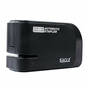 Eagle Automatic Stapler Heavy Duty Electric 20 Sheet Capacity Battery Or Ac